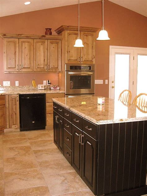 kitchen islands with cabinets alder kitchen with bead board island for the home 5269