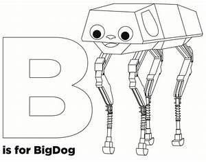 b is for bigdog a preview from the new adafruit coloring With wiringpi beaglebone