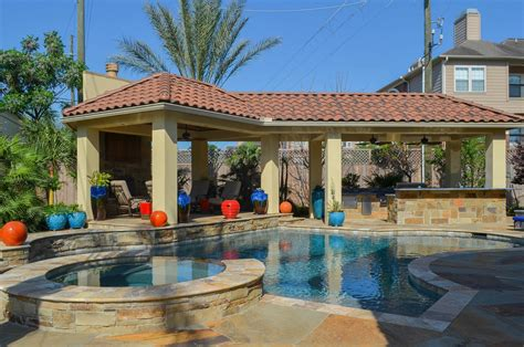 backyard designs with pool and outdoor kitchen backyard pool designs ideas to perfect your backyard homestylediary com