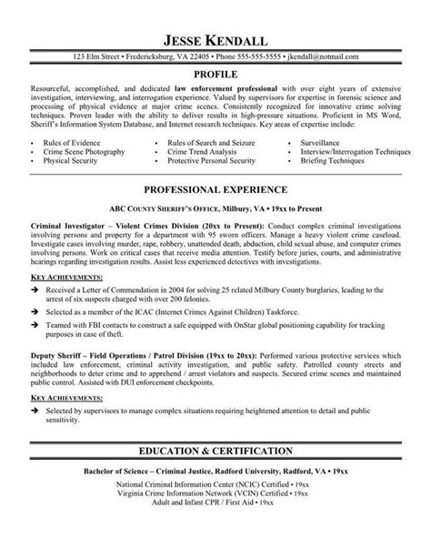 Officer Resume by 1000 Ideas About Officer Resume On