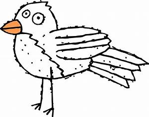 Bird Black And White Clipart - Clipart Suggest