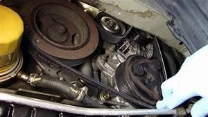Nissan Quest Serpentine Belt Change  2004 - 2009