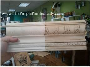 Applying Gel Stain To Cabinets by Annie Sloan The Purple Painted Lady