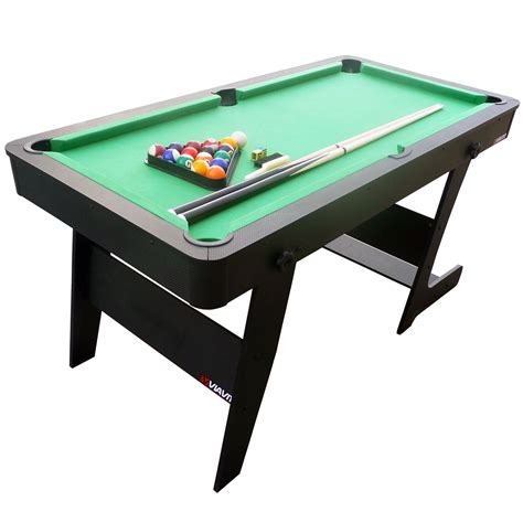 5 foot pool table viavito pt100x 5ft folding pool table sweatband com