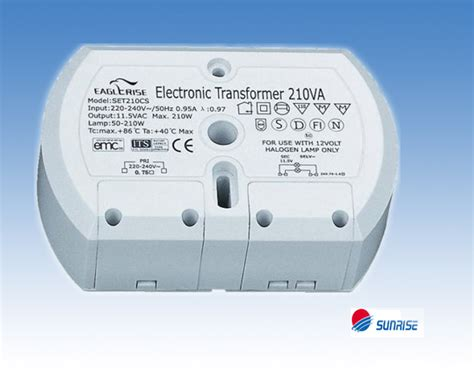 electronic transformer halogen ls set210cs eet210ck eaglerise halogen trafo 11 5v eff