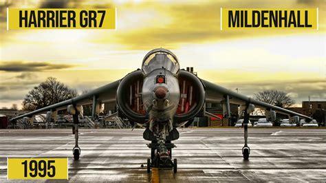 RAF Harrier GR7 Mildenhall Air Fete 1995 - YouTube