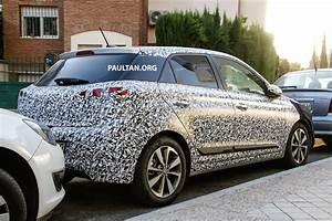 Hyundai I20 2016 : spied 2016 hyundai i20 turbo hotter 150 hp version image 362208 ~ Medecine-chirurgie-esthetiques.com Avis de Voitures