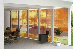 Möbel Für Die Terrasse : sichtschutz aus glas fur die terrasse m bel ideen und ~ Michelbontemps.com Haus und Dekorationen