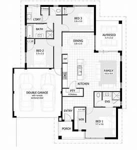 3 bedroom house plans home designs celebration homes for 3 bedroom house plans with photos