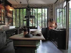 Deco Maison Industriel : cuisine industrielle loft recherche google cuisine ~ Teatrodelosmanantiales.com Idées de Décoration