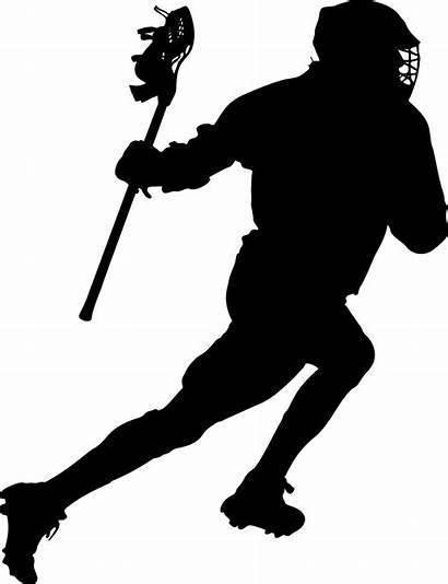 Lacrosse Boys Silhouette Syracuse Team Sports Clipart