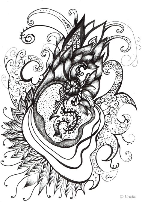 heart coloring pages  adults