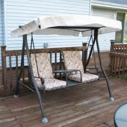 menards sienna swing replacement canopy garden winds