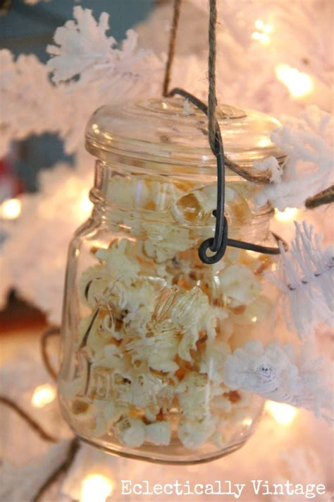 decorating   white christmas tree eclectically vintage