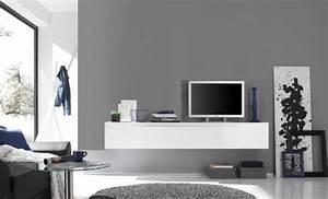 Meuble Tv Accroché Au Mur : meuble tv accroch au mur etudiantsavecsarkozy ~ Melissatoandfro.com Idées de Décoration