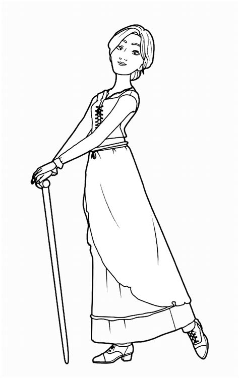 leap  coloring pages