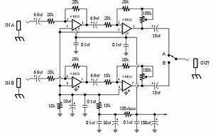 Guitartech  Dual Pre B Box Guitar Effect Schematic