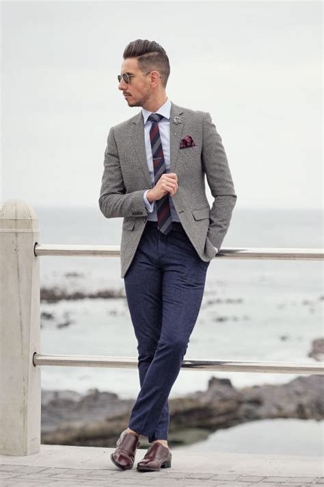 25+ best ideas about Grey blazer mens on Pinterest | Mens suits style Mens fashion suits and ...