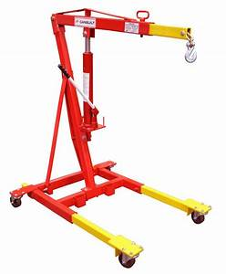 2 Ton Mobile Crane C  W Manual Hydraulic Model Number  3900