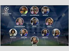 Com dois gols, Neymar é o único do Barcelona em seleção da