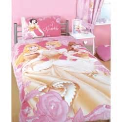 disney princess bedding i sparkle single duvet set rest and play