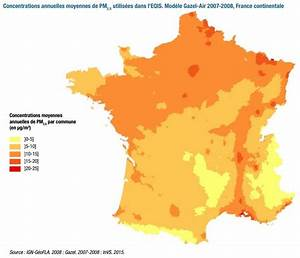 Carte France Pollution : 8 la pollution de l air en france ~ Medecine-chirurgie-esthetiques.com Avis de Voitures
