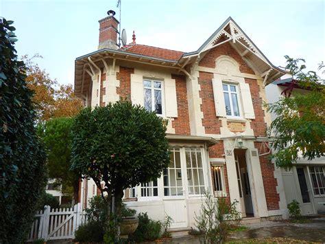 maisons a vendre a la vente centre ville arcachon proche plage authentique villa arcachonnaise