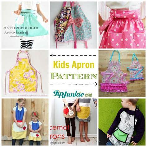 diy apron patterns   tip junkie