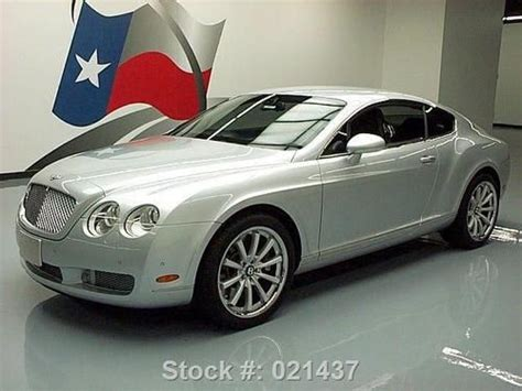 sell   bentley continental gt awd turbo htd seats