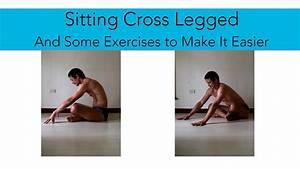 Difficulties Sitting Cross Legged - YouTube