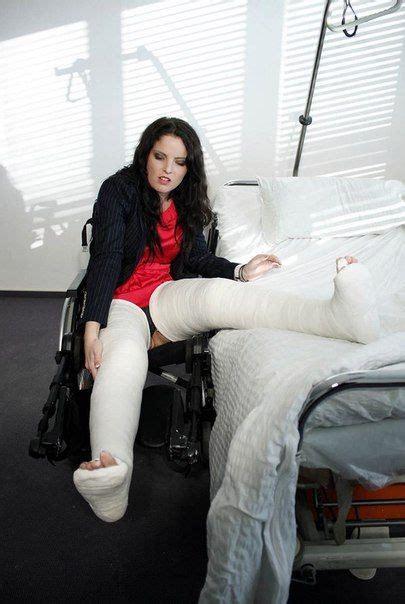 Long Leg Cast Leg Cast Women