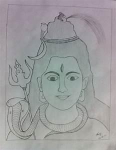 Easy Pencil Drawings Of Lord Shiva   www.pixshark.com ...