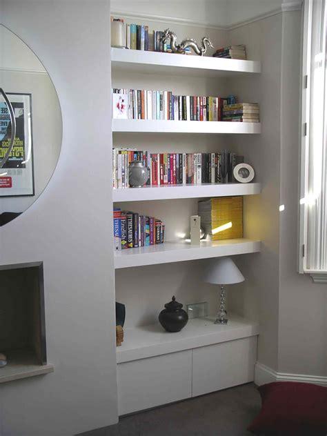 Ikea Cupboard Shelves by Floating Shelf Alcove Cupboard By Henderson