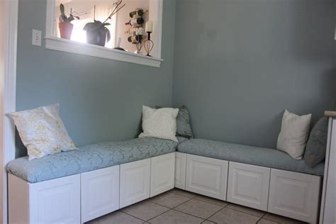 Ikea Banquette Seating by Diy Ikea Hack Banquette From Lidingo Cabinets Home