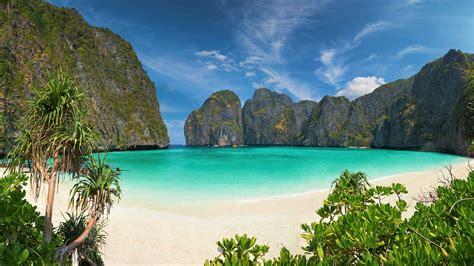 Phi Phi Island In Thailand 4k Ultra Hd Wallpaper