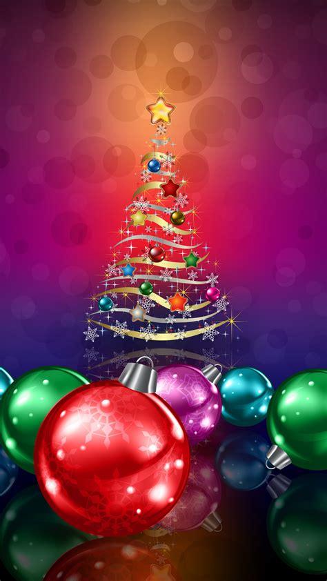 wallpaper xmas tree christmas balls decoration