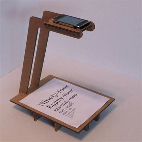 how to scan from iphone cardboard iphone document scanner