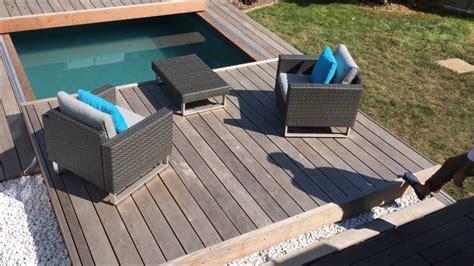 mobile terrasse pool terrasse mobile de piscine un rolling deck 174 en 2 224 margency