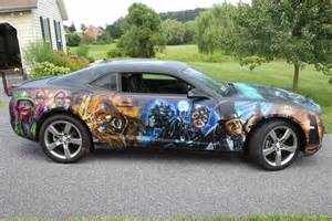 Custom Batman Paint Job On Car