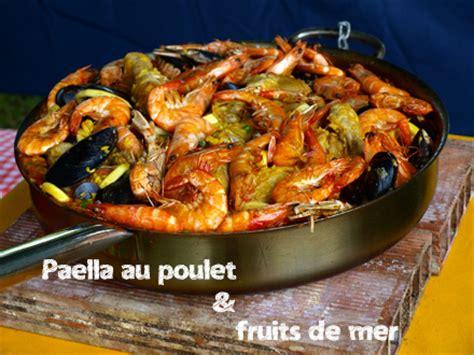 paella au poulet et aux fruits de mer 171 cookismo recettes saines faciles et inventives