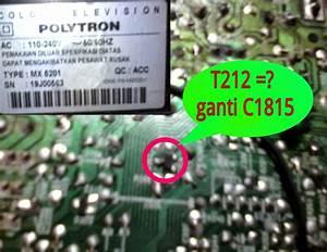 Dw Electronics  Tv Polytron Minimax  Mx 5201  Suara Kecil