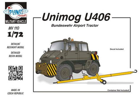 planet models mv unimog  doka military airport