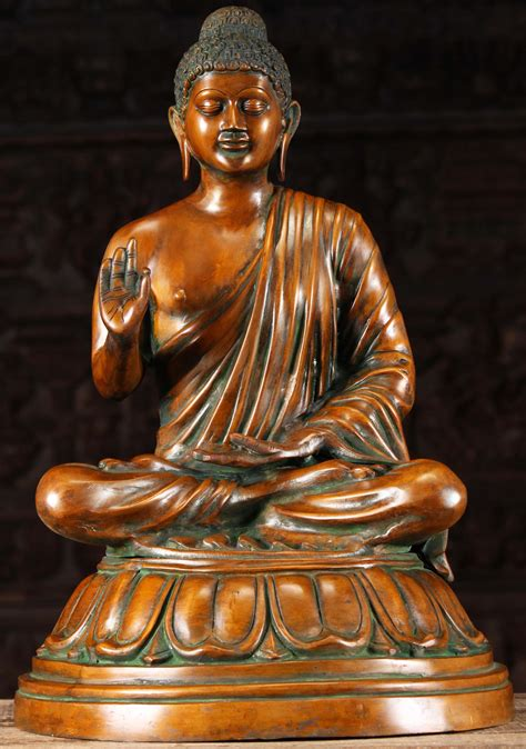 """Circa 450 bce) is the individual whose teachings form the while the ultimate aim of the buddha's teachings is thus to help individuals attain the good life, his analysis of the source of. Brass Vitarka Mudra Teaching Buddha Statue 23"""" (#72bs222z): Hindu Gods & Buddha Statues"""