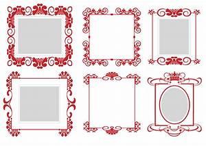 Pattern frame 01 vector Free Vector / 4Vector