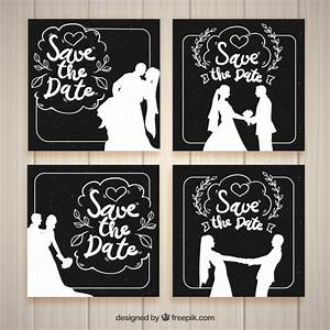 Black and white wedding invitation templates vector free for Black and white wedding invitations vector