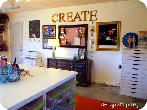 Craftaholics Anonymous®  Craft Room Tour  Amanda At The