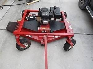 Swisher Self Powered 60 U0026quot  Pull Type Finish Mower T