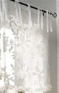 Raffrollo Weiß Transparent : 1 st raffrollo 120 x 140 wei ausbrenner blumen ~ Lateststills.com Haus und Dekorationen