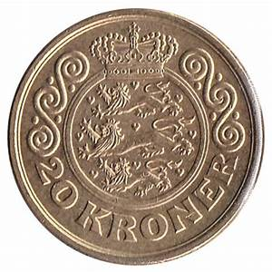 20 Danish Kroner coin - Exchange yours for cash today