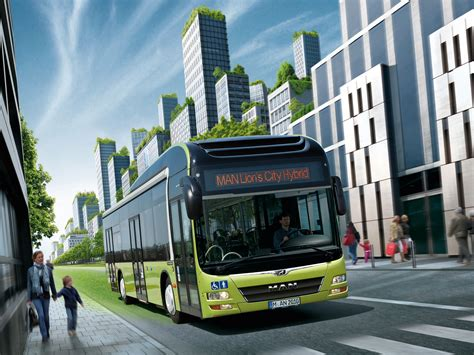 man lions city hybrid sostenibilidad en el transporte